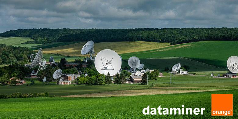 DataMiner enahances VSAT service management at Orange